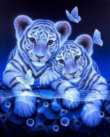 White Tiger Couple