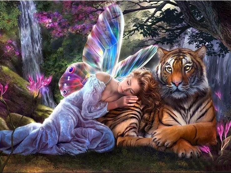 Butterfly Fairy Tiger