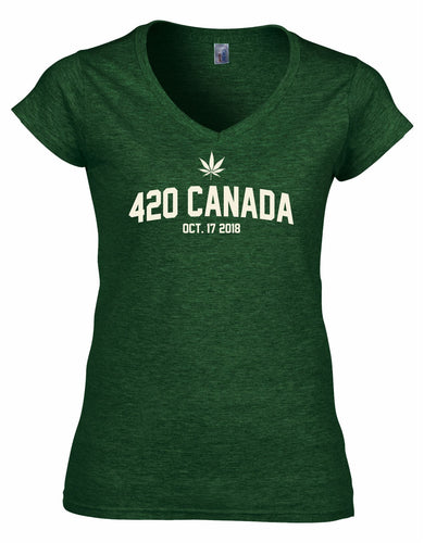 Ladies 420 T-shirt