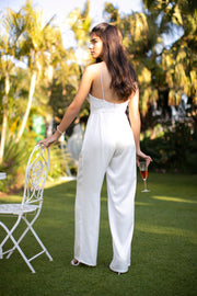 FIBI WEDDING JUMPSUIT  Wedding Dress - StudioSharonGuy