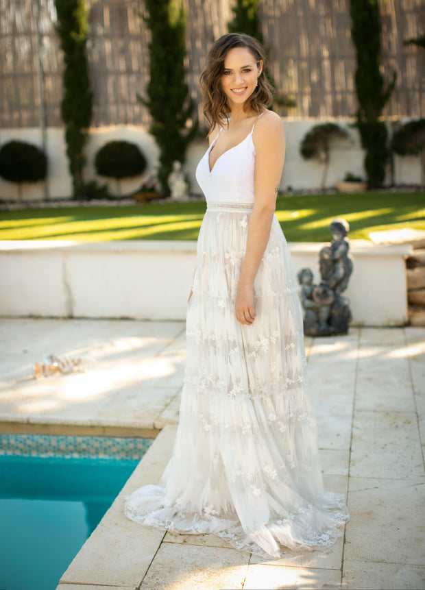 MIA WEDDING GOWN - StudioSharonGuy - Wedding Dress - wedding dresses - beach - boho