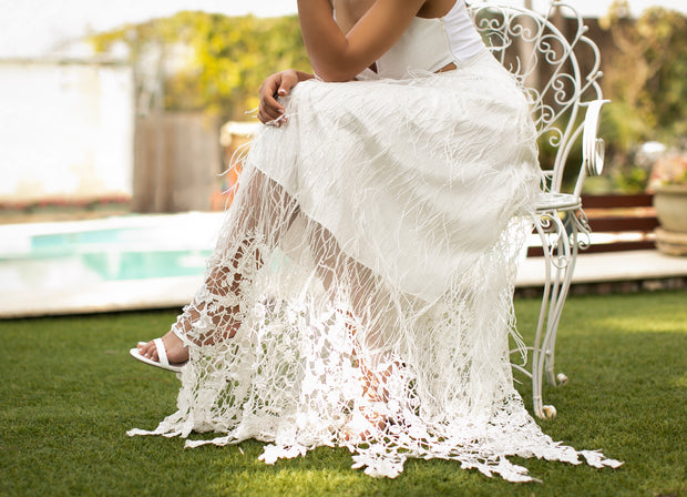 DORIN WEDDING GOWN - StudioSharonGuy - Wedding Dress - wedding dresses - beach - boho