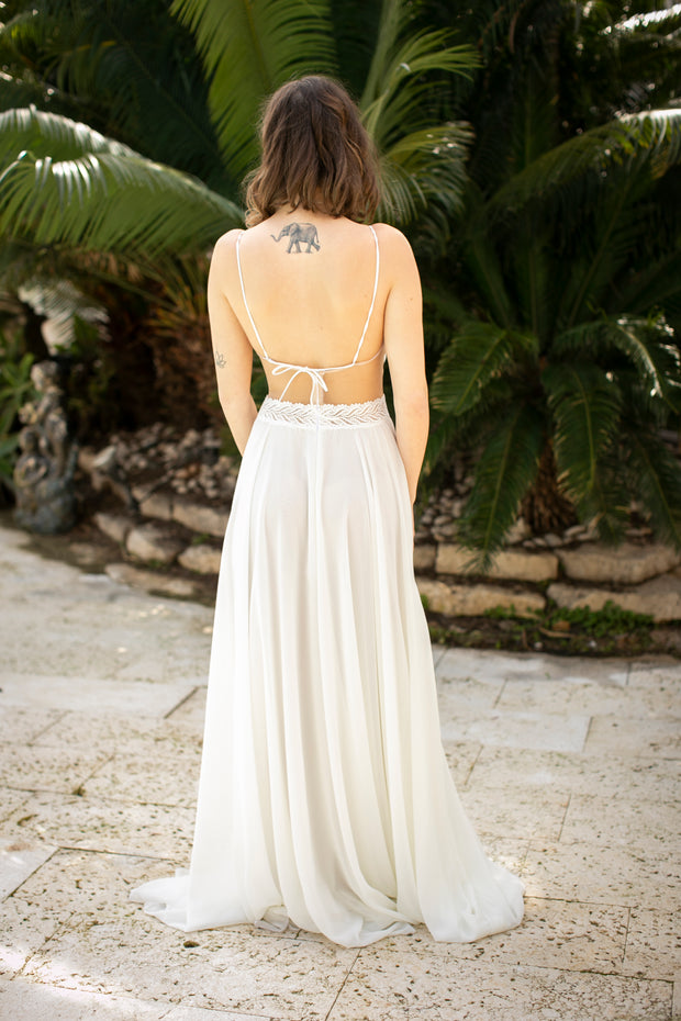 ABIGAIL WEDDING GOWN - StudioSharonGuy - Wedding Dress - wedding dresses - beach - boho