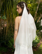 Shimering Veil - StudioSharonGuy - Veils - wedding dresses - beach - boho