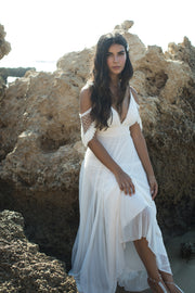ALODIE BOHO WEDDING DRESS  Wedding Dress - StudioSharonGuy