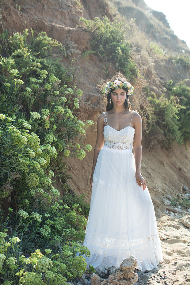 AVRIL BRIDAL SEPERATES - StudioSharonGuy - Wedding Dress - wedding dresses - beach - boho