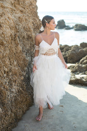 LILY BRIDAL SEPERATES - StudioSharonGuy - Wedding Dress - wedding dresses - beach - boho
