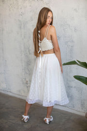 BOHO PEARL BRIDAL TOP #7- BRIDAL SEPARATES COLLECTION  Wedding Dress - StudioSharonGuy