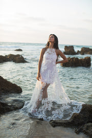 LIRI BOHO WEDDING DRESS  Wedding Dress - StudioSharonGuy