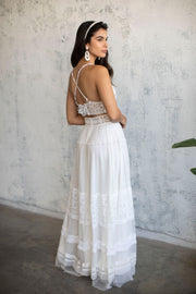 BOHO LACE BRIDAL TOP # 3 - BRIDAL SEPARATES COLLECTION  Wedding Dress - StudioSharonGuy