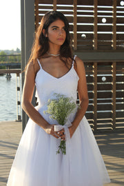 LUNA TWO PIECE SET  Wedding Dress - StudioSharonGuy