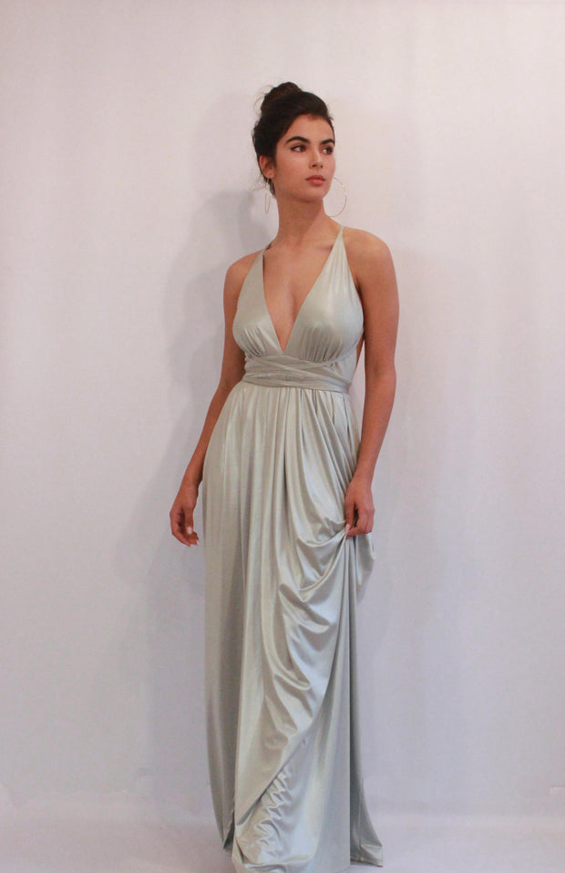 AMBER-SILVER - StudioSharonGuy - dress - wedding dresses - beach - boho