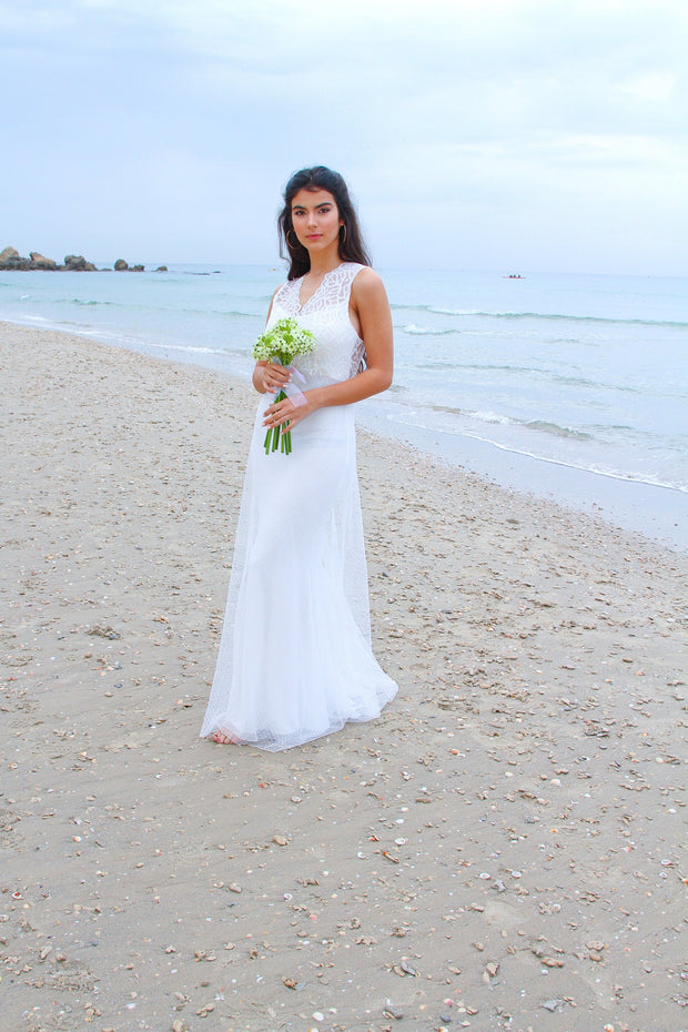 ALLEN GOWN - StudioSharonGuy - Wedding Dress - wedding dresses - beach - boho