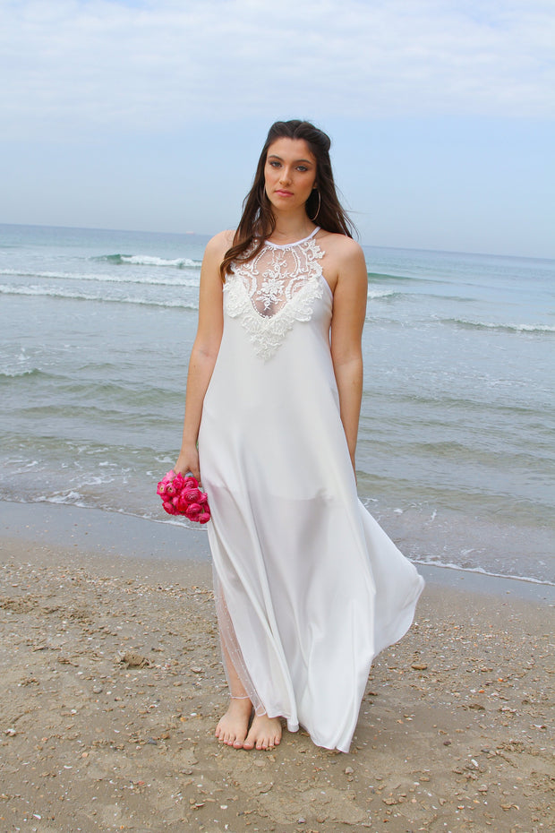 CHARLOTTE WEDDING GOWN - StudioSharonGuy - Wedding Dress - wedding dresses - beach - boho