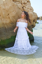 CHLOE WEDDING GOWN - StudioSharonGuy - Wedding Dress - wedding dresses - beach - boho