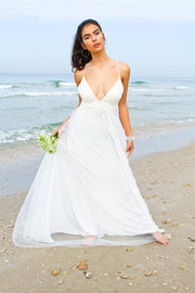 ELI  WEDDING GOWN - StudioSharonGuy - Wedding Dress - wedding dresses - beach - boho