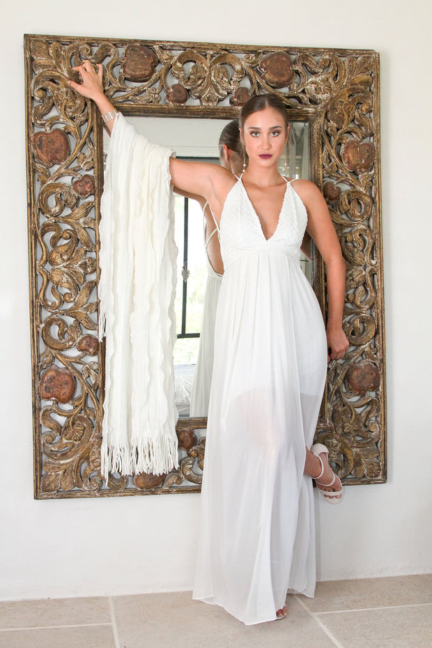 ADDISON WEDDING DRESS - StudioSharonGuy - Wedding Dress - wedding dresses - beach - boho