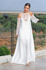 CHARLOTTE B WEDDING GOWN - StudioSharonGuy - Wedding Dress - wedding dresses - beach - boho