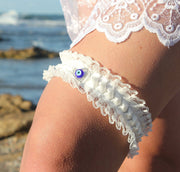 HONEY GARTER, bridesmaid accessories, keepsake garter  garter - StudioSharonGuy