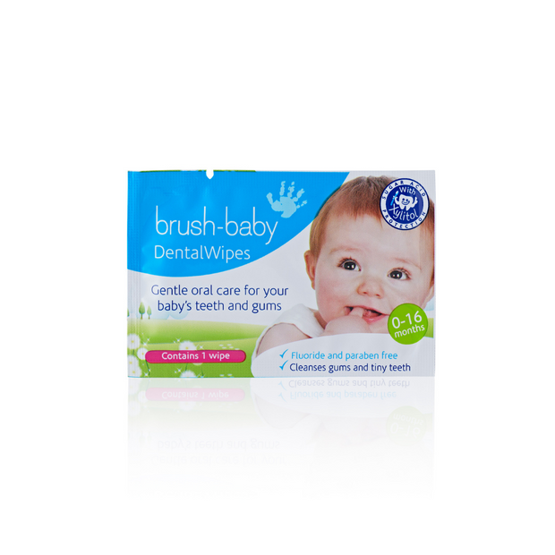 DentalWipes with Soothing Xylitol