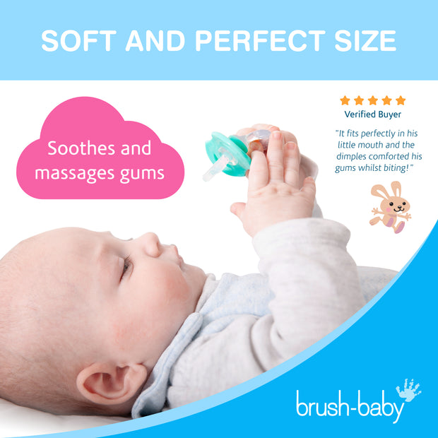 FrontEase Teether and Dental Wipes Teething Set