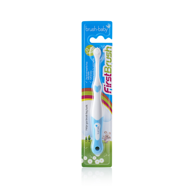 FirstBrush First Toothbrush (0-18 months) (3 Pack)
