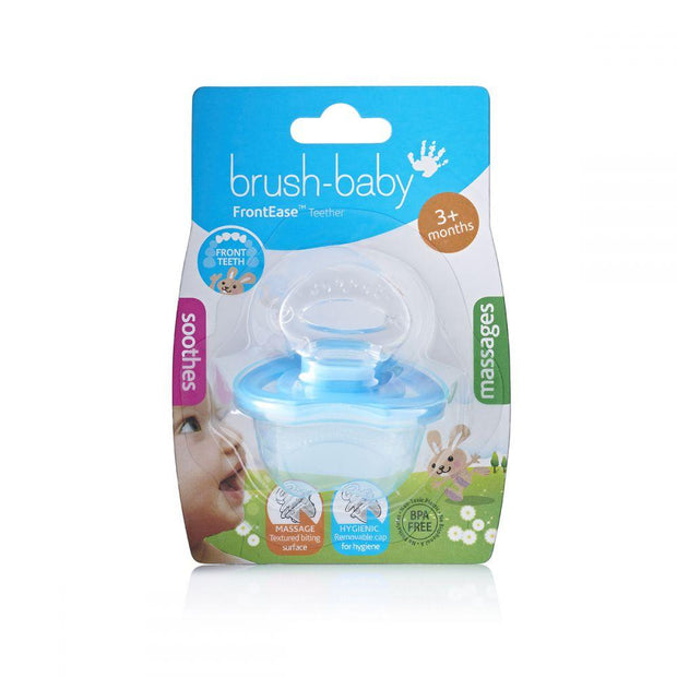 frontease_blue_unpackaged_brush_baby - best baby teething product pack