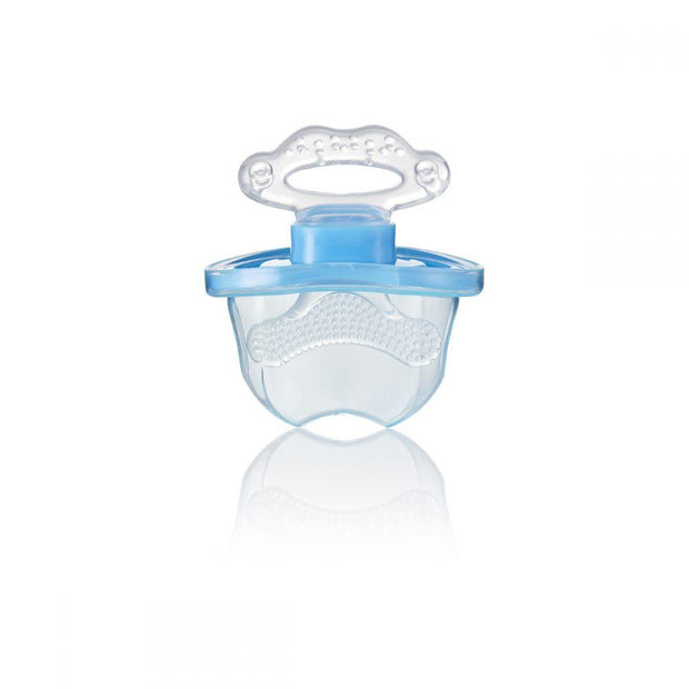frontease_blue_unpackaged_brush_baby - best baby teething product side