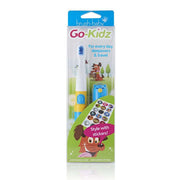 go kidz travel toothbrush childrens electric toothbrushes blue - pack