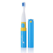 go kidz travel toothbrush childrens electric toothbrushes blue