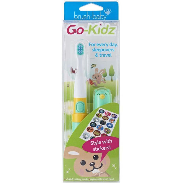 Go-Kidz Electric Travel Toothbrush