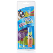 kidzsonic_age 3-6_blue_childrens electric toothbrush pack