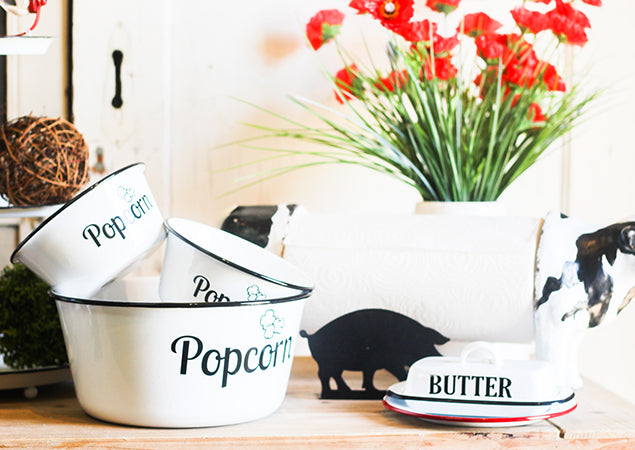 New Kitchen Enamelware Trend We Are Loving