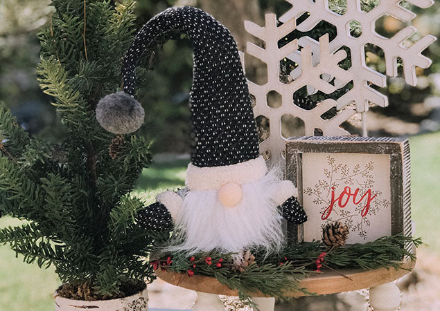 An All Time Favorite Christmas Decor Item... GNOMES!