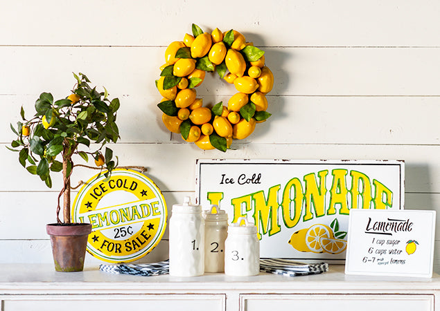 We LOVE Lemon Decor #rodworksfeaturedfaves