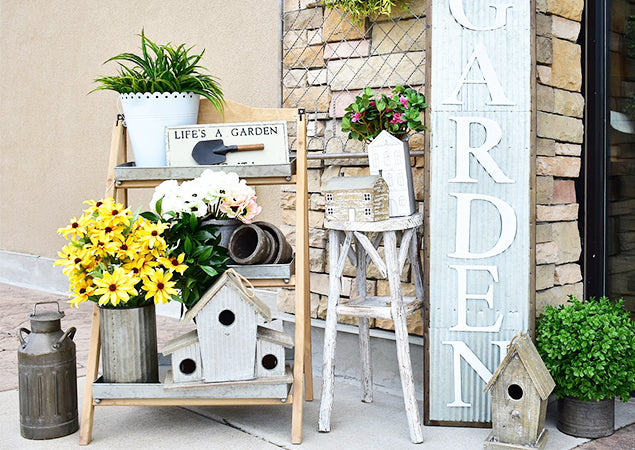 Front Porch Decorating For Spring And Summer