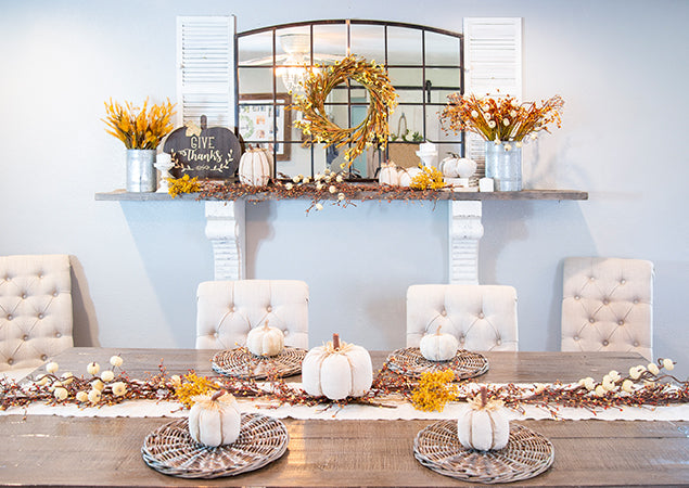 Fall Decorating: Autumn Tablescape