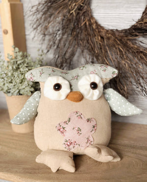 Pink Belly Owl Sitter