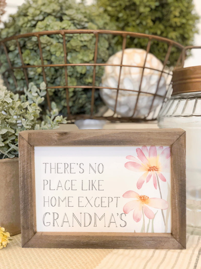 Grandma's Home Sign