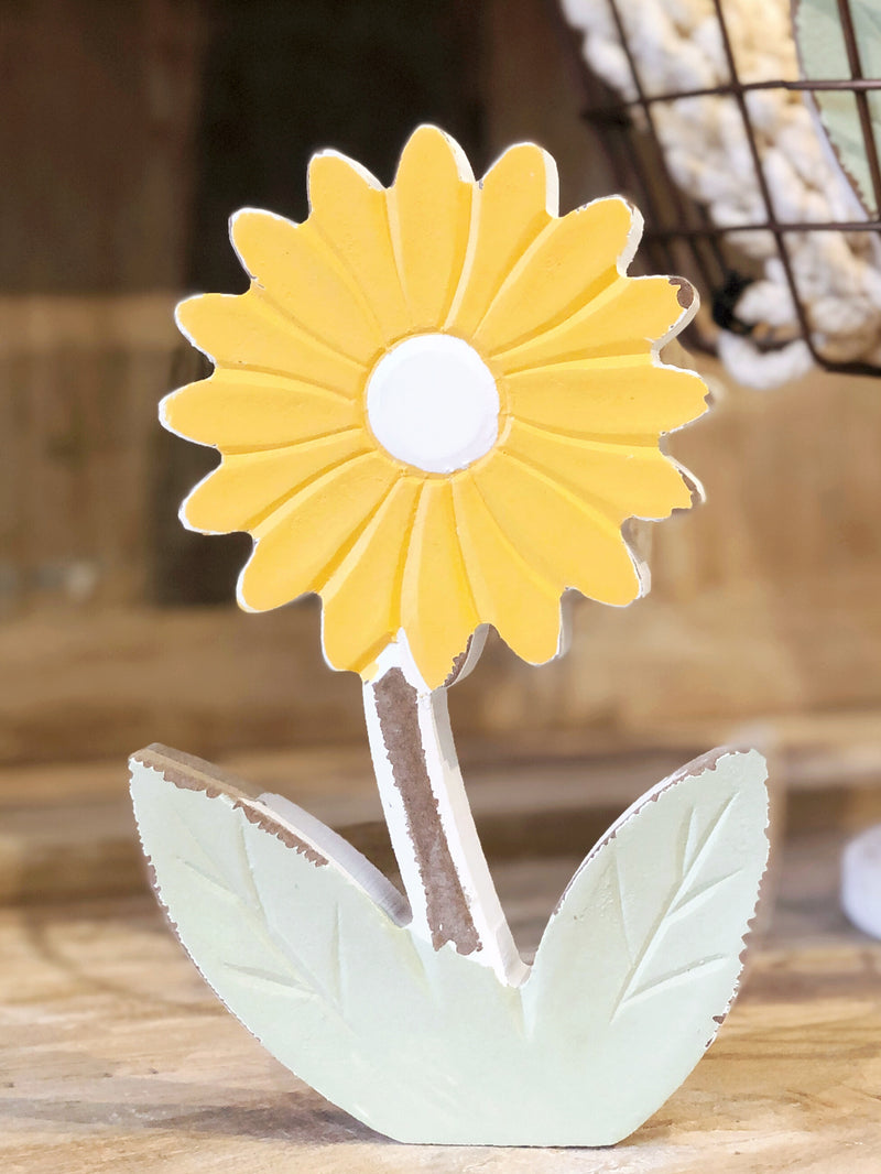 Small Yellow Daisy Cutout