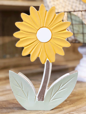 Large Yellow Daisy Cutout