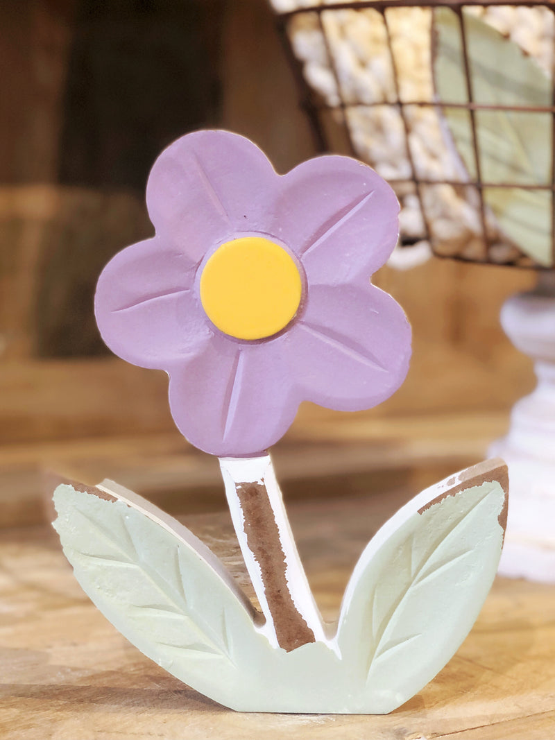 Small Purple Flower Cutout