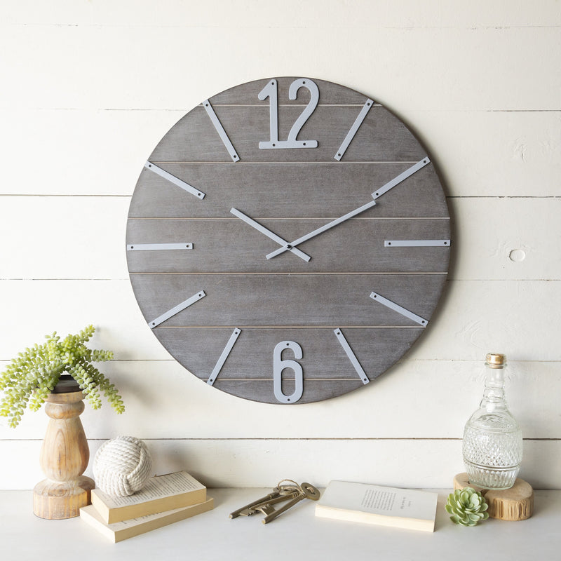 Wooden Wall Clock 23.5