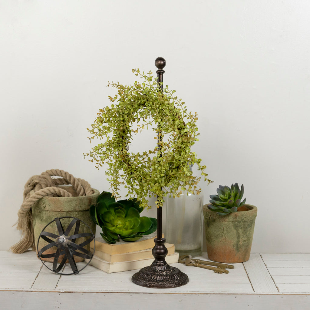 Metal Wreath Holder 22""