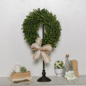 Metal Wreath Holder 28""