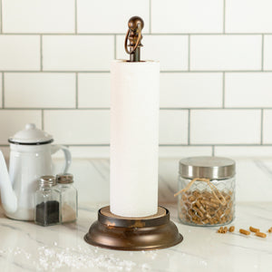 Round Paper Towel Holder