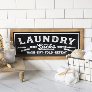 """Laundry"" Sign 23.5"""