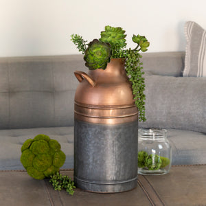 Copper Canister 16.2""