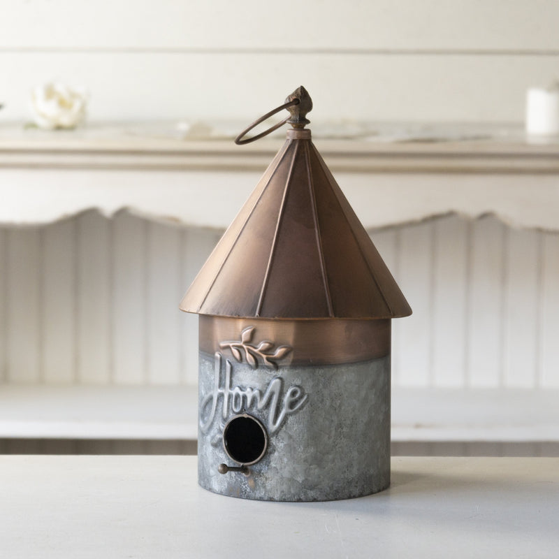 Copper Birdhouse 15.5