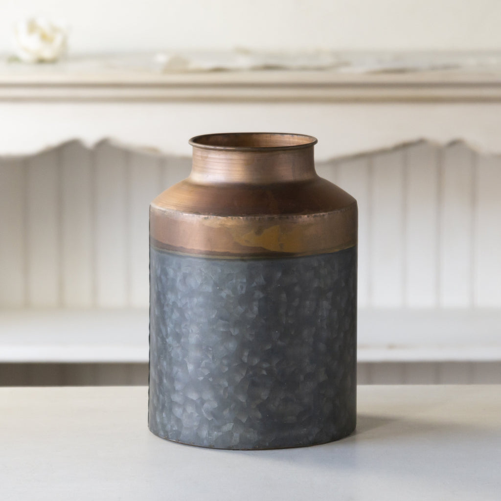 Copper Canister 10""
